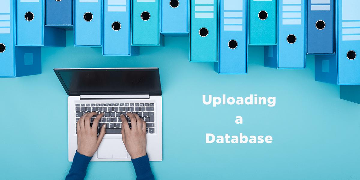 Uploading a Database