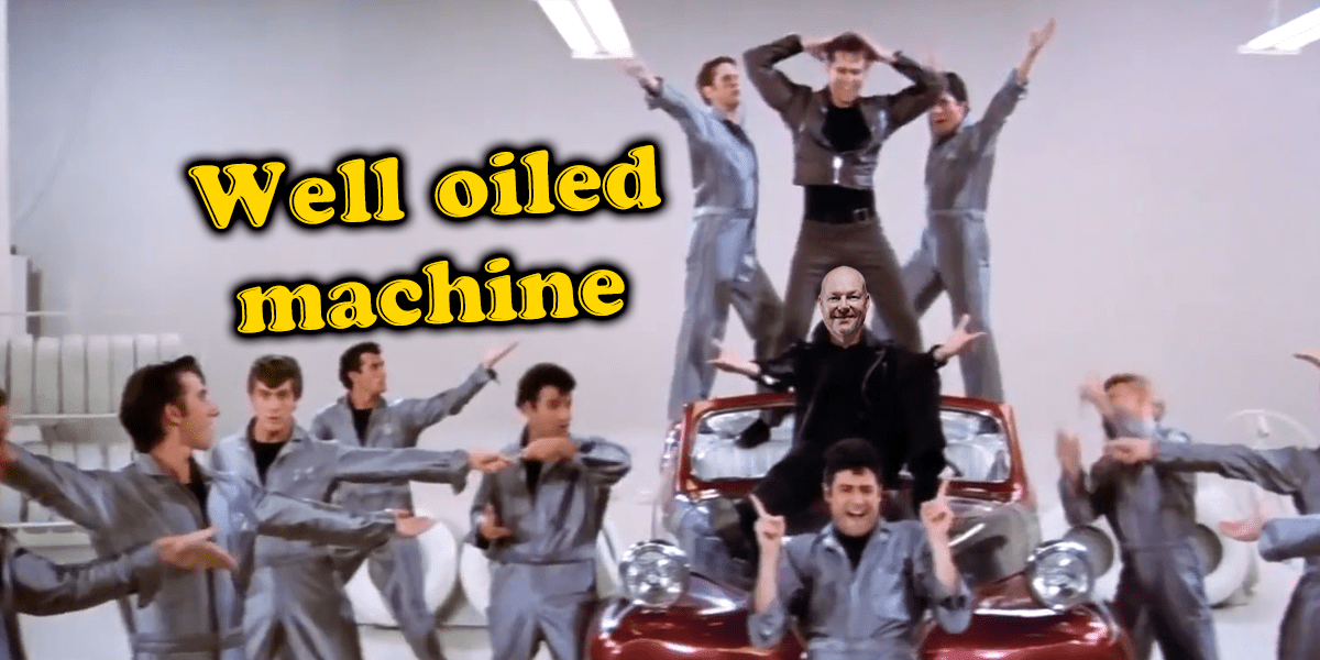 It's systematic, it's hydromatic… it's greased lightning!