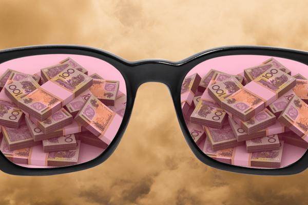 success rose tinted glasses